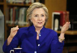 Hillary Rodham Clinton, precandidata demócrata a la presidencia de EU. Foto: AP