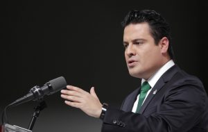 Aristóteles Sandoval, gobernador de Jalisco. Foto: Notimex