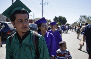 La ley en favor de los estudiantes fue aprobada por la Asamblea Legislativa estatal hace una semana con un voto final de 34 a favor y nueve en contra. Foto: AP