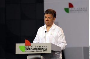En el marco de la visita a México del Presidente de Colombia, Juan Manuel Santos, se prevé que el tema esté sobre la mesa de discusión. Foto: Agencia Reforma