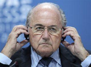 El suizo Joseph Blatter, 79 años, resultó reelecto presidente de la FIFA. Foto: AP