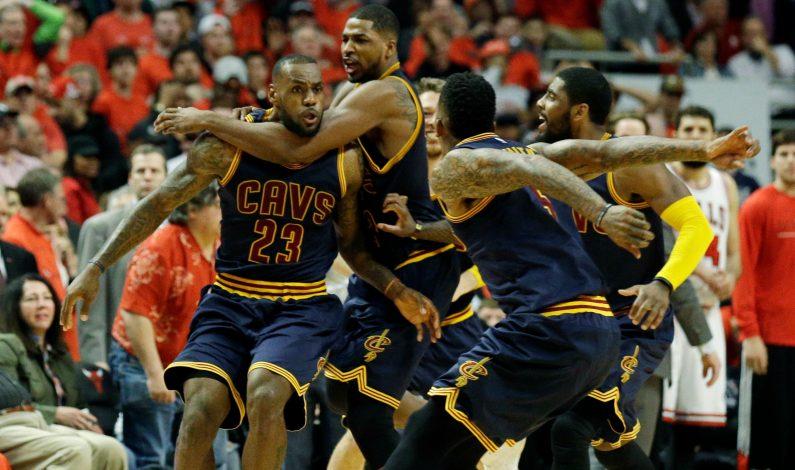 Cavs empatan serie ante Bulls