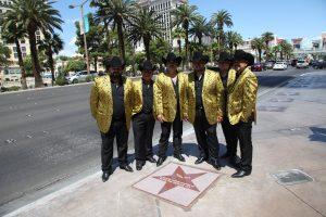 Los Rieleros del Norte develan su estrella en Las Vegas. Foto: Cortesía