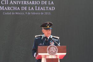 Salvador Cienfuegos, secretario de la Defensa Nacional. Foto: Notimex
