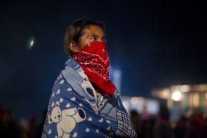 El EZLN presumió su forma de organización y elección de sus autoridades. Foto: AP