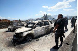 La violencia y la inseguridad predominan en siete regiones de Michoacán con más de dos decenas de municipios. Foto: Agencia Reforma
