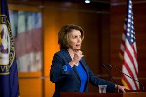 Nancy Pelosi, líder de la minoría demócrata en la cámara de representantes. Foto: AP