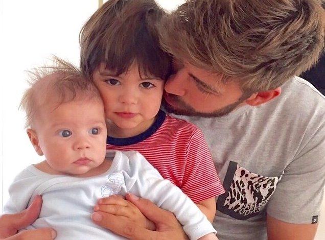 Gerard Piqué: Enamorado de sus niños