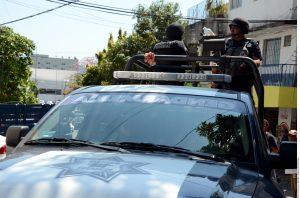 El enfrentamiento se registró entre agentes de Fuerzas Especiales de la Policía Federal y varios hombres armados. Foto: Agencia Reforma