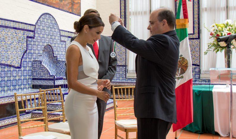 Premiada Eva Longoria por labor en favor de latinos