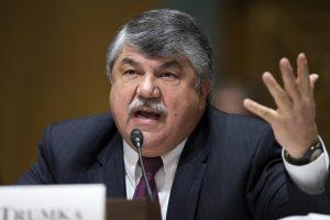 Richard Trumka, presidente de la Federación Estadunidense del Trabajo y Congreso de Organizaciones Industriales (AFL-CIO). Foto: AP