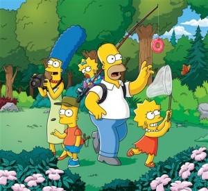 """Esta fotografía suministrada por la cadena Fox muestra una escena del programa """"Los Simpson"""". Fox dijo el lunes 4 de mayo de 2015 que la serie animada tendrá temporadas 27 y 28, lo que elevará el total de episodios a 625. (FOX vía AP)"""