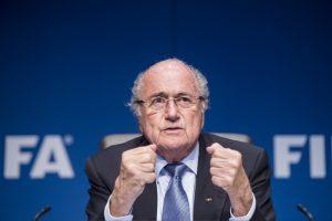 Joseph Blatter, presidente de la FIFA. Foto: AP