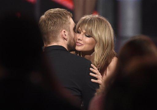Derroche de amor entre Taylor Swift y Calvin Harris