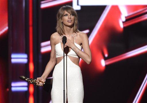 Taylor Swift se alza con 8 Premios Billboard