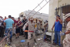 Los daños materiales por el tornado se registraron en más de 100 viviendas. Foto: Notimex