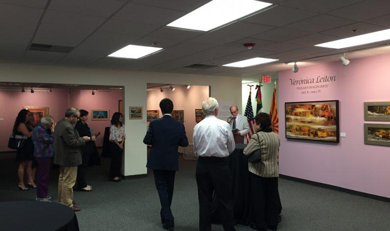 Nueva exhibición se presenta en el Consulado