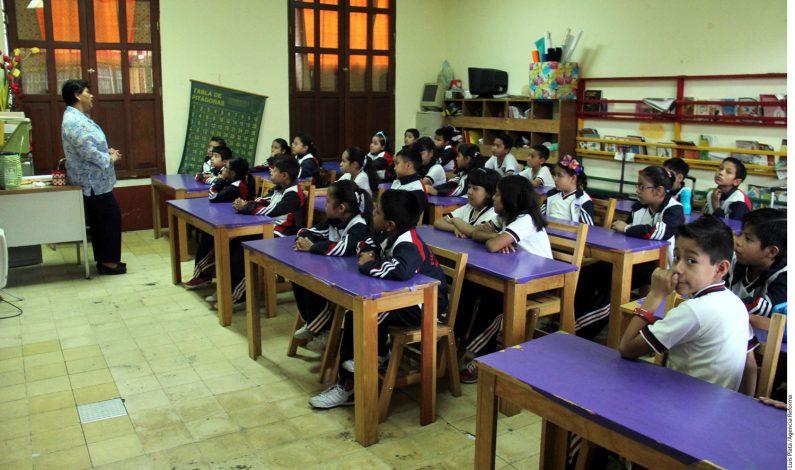 Maestros reanudan clases en Oaxaca