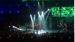 Wisin tuvo una aparición en el concierto. Foto: Agencia Reforma