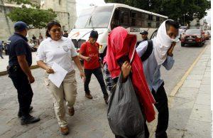 Los migrantes se enfrentaron a sus captores y lograron escapar. Foto: Agencia Reforma