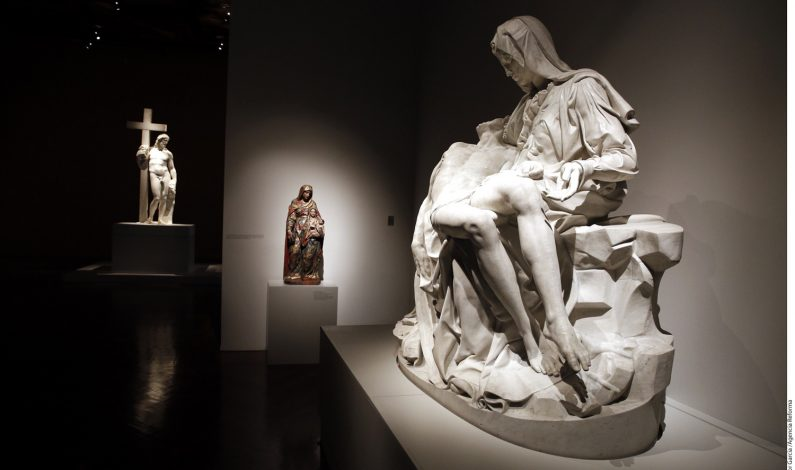 Llega Miguel Ángel a Bellas Artes