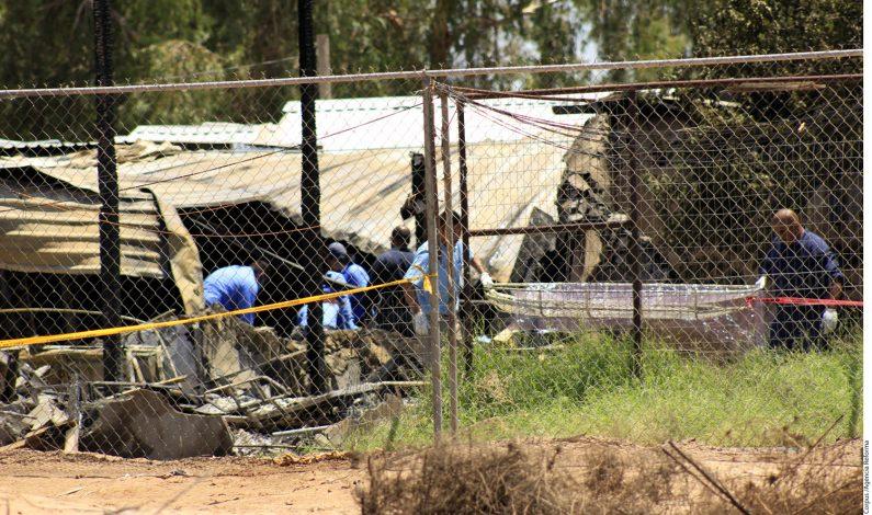 Dan de alta a tres de lesionados por incendio en asilo