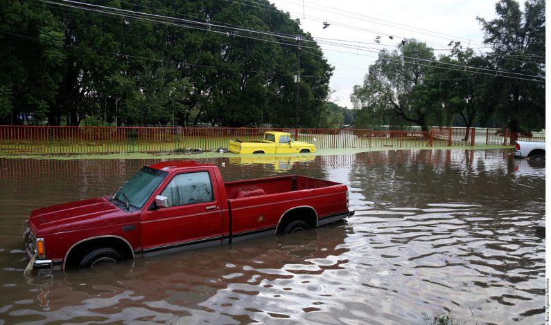 Guadalajara se convierte en una laguna
