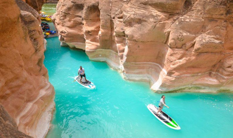 """Aventura sin igual: """"Stand Up Paddle"""" en el Gran Cañón"""