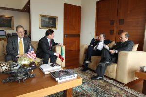 Durante la visita, la delegación estadunidense se reunirá con empresarios mexicanos, académicos y representantes de universidades nacionales. Foto: Notimex