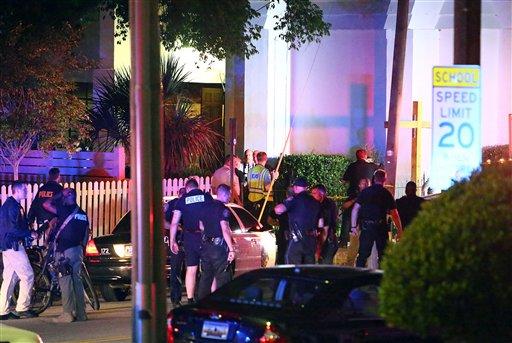 Nueve muertos en tiroteo en iglesia de Charleston