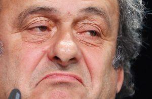Michel Platini, presidente de la UEFA. Foto: AP