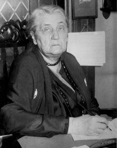 Las primeras propuestas del público incluyen a la ex primera dama Eleonor Roosevelt y Jane Addams (en la imagen), líder del movimiento para el sufragio femenino y Premio Nobel de la paz en 1931. Foto: AP