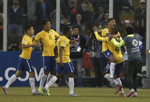 América: Brasil clasifica a cuartos y elimina a Venezuela