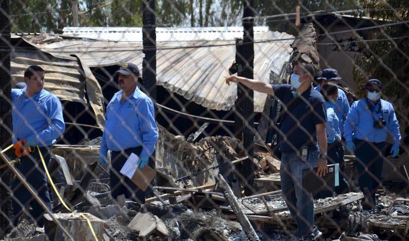 Cuatro ancianos internados a causa de incendio en Mexicali