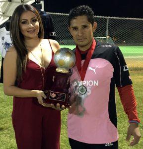 Byron Perez-Best Keeper-Division Premier