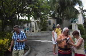 Una fundación estadounidense enviará cerca de un millón de dólares en suministros para construir instalaciones de primera para preservar los libros, cartas y fotos de Hemingway. Foto: AP