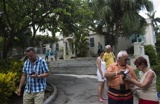 Casa de Hemingway en Cuba recibirá $900 mil