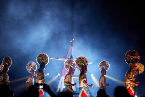 El Ritual de los Voladores de Papantla se presentará del 18 al 22 de junio en el Originis Festival (Festival de los Orígenes), en Londres, y posteriormente viajarán a Somerset, Inglaterra. Foto: Cortesía