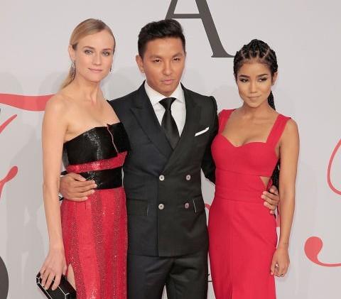 """Con estilo la alfombra de los """"Oscares de la moda"""""""