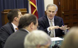 Greg Abbott, gobernador de Texas. Foto: AP