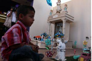Los restos de los niños fallecidos por el incendio de la guardería ABC, descansan en el mausoleo del Panteón Sahuaro de Hermosillo. Foto: Agencia Reforma