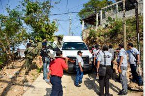 En Guerrero los homicidios dolosos no han ido a la baja en comparación al año pasado. Foto: Agencia Reforma