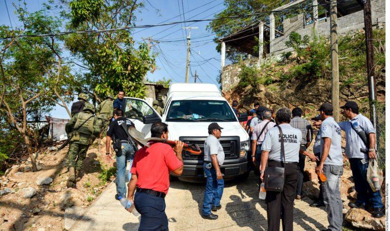 Seismuertos en balacera en Guerrero