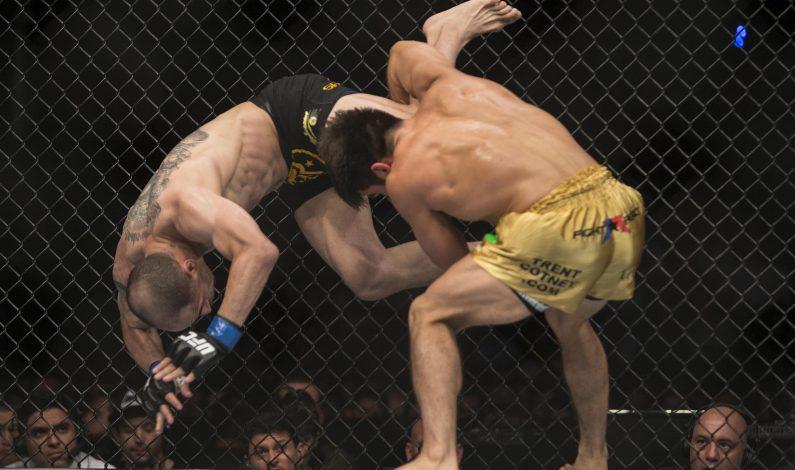 Cejudo se fajó y venció a Camus en el UFC 188