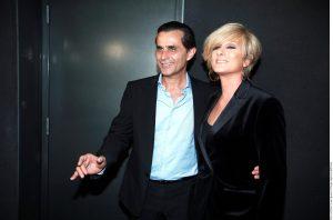 Humberto Zurita y su esposa, Christian Bach. Foto: Agencia Reforma