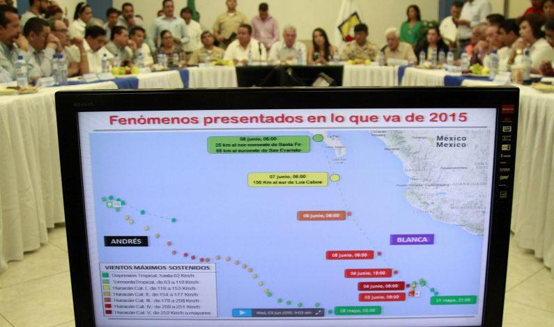 """Alertan por posible entrada de huracán """"Blanca"""" a Baja California Sur"""