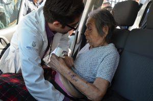 Cuatro personas son atendidas en el Hospital General de Mexicali. Foto: AP