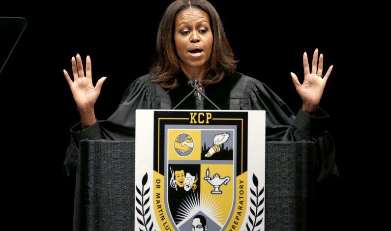 Michelle Obama ahora es también editora de revista