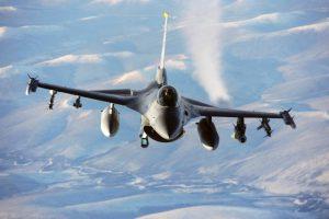 Avión F-6 Fighting Falcon. Foto: AP
