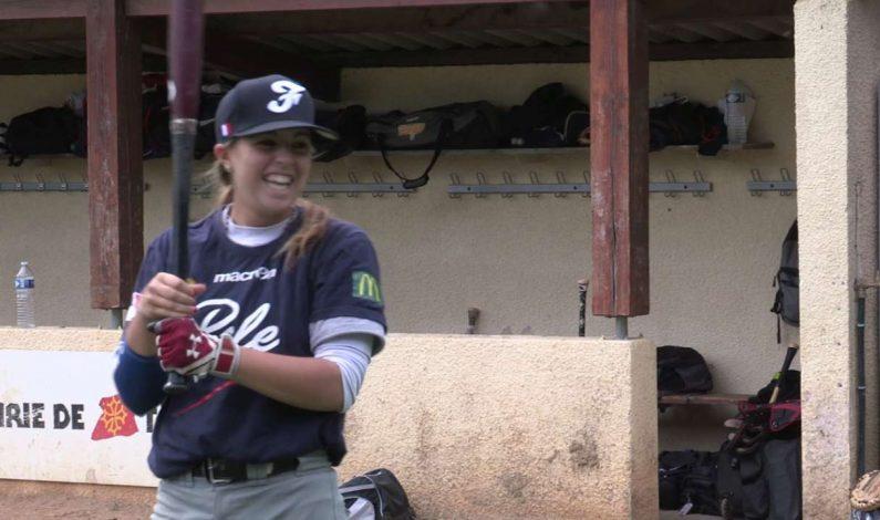 Una adolescente francesa hace historia en MLB